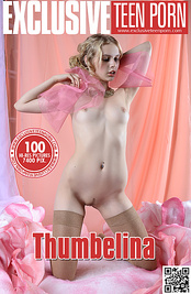 Amazing teen queen strips out of her pink costume to enter a dreamland where only you and her hot body exist.